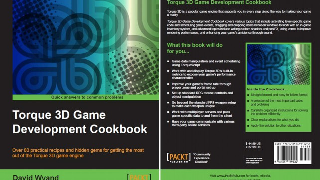 Torque 3D Game Development Cookbook is Now Available