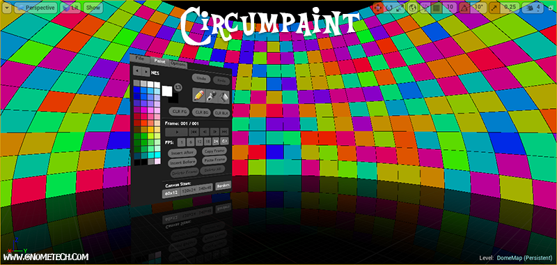 Circumpaint UE4 Level